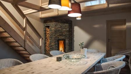 dom w górach z kominkiem na Sylwestra, święta, ferie zimowe do wynajęcia